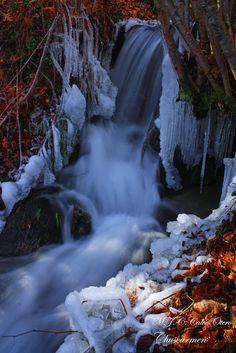 El frío en el agua,  A Veiga,  Ourense  Spain