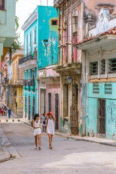 Habana Vieja (Old Havana)- Cuba  www.theroadlestraveled.com