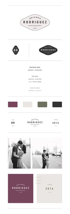 Brianna Rodriguez Photography Branding | by Hayley Brooks Studio