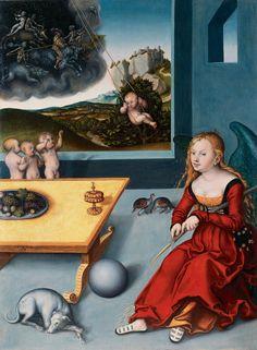 Cranach, Lucas d. Ä. - Die Melancholie - 1532 - ルーカス・クラナッハ - Wikipedia