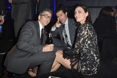 """Michelle Forbes Photos Photos - (L-R) Actors Leland Orser, Richard Armitage and Michelle Forbes attend EPIX """"Berlin Station"""" LA premiere at Milk Studios on September 29, 2016 in Los Angeles, California. - EPIX 'Berlin Station' LA Premiere"""