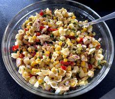 Sałatka makaronowa z kurczakiem - Blog z apetytem Cooking Kits For Kids, Kids Cooking Recipes, Keto Recipes, Frozen Chicken, Italian Cooking, Keto Diet For Beginners, Pasta Salad, Salad Recipes, Food And Drink