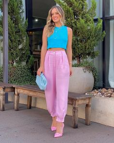 Winter Fashion Outfits, Casual Summer Outfits, Fashion Pants, Look Fashion, Chic Outfits, Spring Outfits, Womens Fashion, Designer Party Wear Dresses, Outfit Combinations