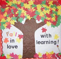 October/November bulletin board - kindergarten                                                                                                                                                      More