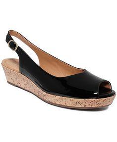 3fb668eeb74de3 Clarks Artisan Women s Orlena Currant Platform Wedge Sandals Platform Wedge  Sandals