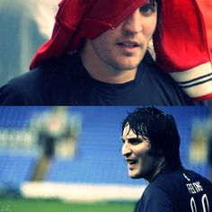 Noel Fielding, football. My favorite pictures. I have issues