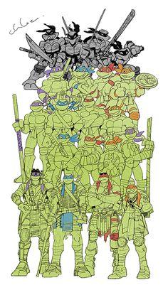 Generations of TMNT