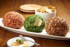 Holiday Cheese Balls 3 Ways