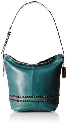 64c264aaf2f1 Women s Shoulder Bags - Tignanello Boho Classic Vintage Leather Bucket Bag  RustDark Brown   Find out more about the great product at the image link.