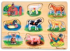 Melissa & Doug Farm Sound Puzzle by Melissa & Doug, http://www.amazon.com/dp/B000GKD006/ref=cm_sw_r_pi_dp_CHvQqb0WVZDJR