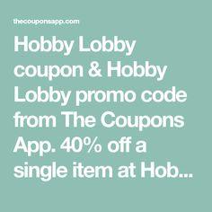 Mas De 25 Ideas Increibles Sobre Hobby Lobby Coupon App En Pinterest