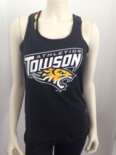 Towson Athletics Tank Top great for Summer! $24.99 at 208 York Rd. Towson, MD 21204