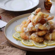레몬마요새우 (Lemon Mayo Shrimp)