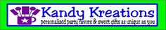 Kandy Kreations-Personalized party favors, gifts, and party info