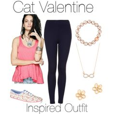 Cat Valentine Inspired Outfit