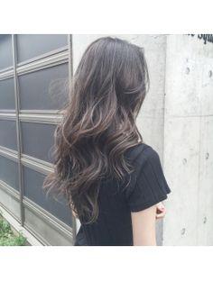 【お客様の髪色紹介】夏にぴったり透明感♪外国人風3Dハイライト