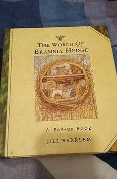 The World of Brambly Hedge,  A Pop- Up Book, Jill Barklem, 1992