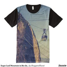 Sugar Loaf Mountain in Rio de Janerio Brazil All-Over-Print Shirt - Visually Stunning Graphic T-Shirts By Talented Fashion Designers - #shirts #tshirts #print #mensfashion #apparel #shopping #bargain #sale #outfit #stylish #cool #graphicdesign #trendy #fashion #design #fashiondesign #designer #fashiondesigner #style