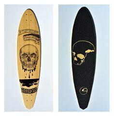 Phauna Longboards skull