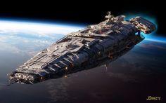 james-grant-zbrush-starship-front-jgrani
