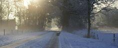 winter ochtend