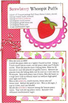 Strawberry Whoopie Puffs