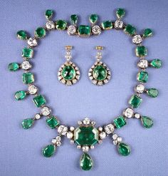Emerald necklace of Catherine the Great