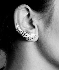 Znalezione obrazy dla zapytania nausznice skrzydła Earrings, Jewelry, Ear Rings, Stud Earrings, Jewlery, Jewerly, Ear Piercings, Schmuck, Jewels