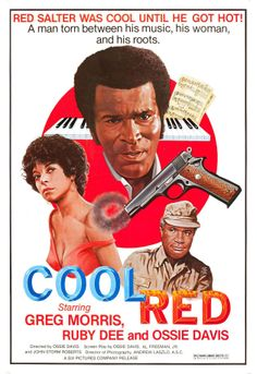 Cool Red (1976) starring Greg Morris, Ruby Dee & Ossie Davis