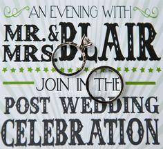 Rings! (love this invite)
