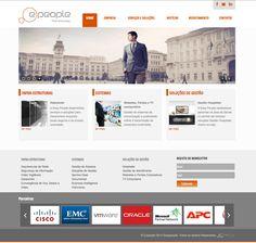 Criação e desenvolvimento de webiste EasyPeople.pt