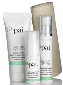 NEU: PAI SKINCARE TRAVEL KIT INSTANT CALM COLLECTION www.naturalcosmetics.at