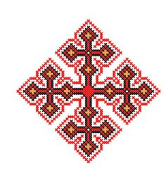 RL021 Cross Patterns, Palestine, Georgian, Stitches, Creations, Cross Stitch, Traditional, Embroidery, Christmas Ornaments