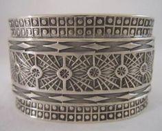 Barry Petri sterling silver bracelet. Vintage Antique & Artisan Sterling Silver From Sterling 925