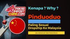 Kenapa Pinduoduo Paling Sesuai Dropship ke Malaysia ? Shopee Malaysia