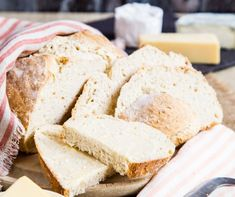 The Most Delicious Kneadless, Yeastless Bread Recipe You Will Ever Try! Yeast Free Breads, No Yeast Bread, Bread Baking, Amish Bread, Yeastless Bread Recipe, Easy Yeast Rolls, Sandwich Bread Recipes, Banana Recipes, Butter Recipe