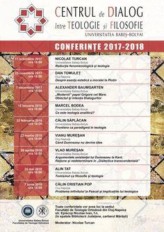 Conferințe pe teme de teologie și filosofie la UBB Cluj-Napoca