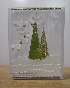 Holiday Sneak Peek! Watercolor Winter Simply Created Card Kit...My Version #1