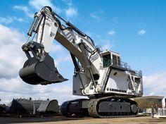 Huge excavators