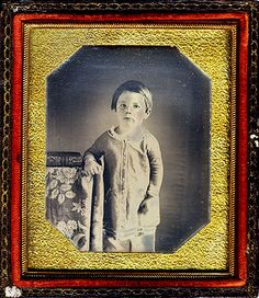 The only known image of Eddie Lincoln, Abraham Lincoln's second son