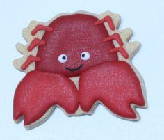 Yengeç Kurabiye - Cookie Design Shop - Handmade Cookie - El Yapımı Butik