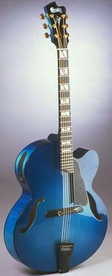 Manzer Guitars - Archtop ~ https://www.pinterest.com/lardyfatboy/