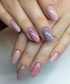 Cute Bridal Nail Art Designs to Look Awesome Shellac Nails, Toe Nails, Pink Nails, Calgel Nails, Rounded Acrylic Nails, Acrylic Nail Art, Trendy Nail Art, Stylish Nails, Nail Art Designs