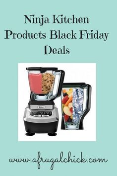 Ninja Kitchen Products Black Friday Deals- Looking for Ninja Kitchen Products Black Friday Deals? Check out this chart of the prices for the major chains!