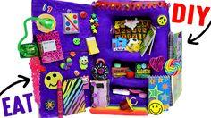DIY Edible School Locker   EAT Locker Decor, Combination Lock, Books & ...