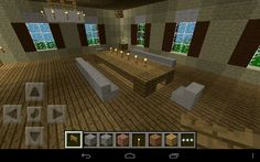 minecraft dining table whole