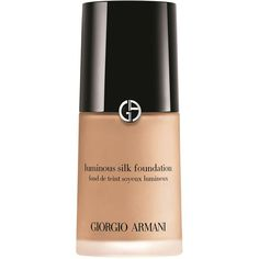 Giorgio Armani Luminous Silk Foundation (€40) ❤ liked on Polyvore featuring beauty products, makeup, face makeup, foundation, beauty, filler, hydrating foundation, giorgio armani foundation, moisturizing foundation and giorgio armani