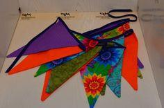banderines de GUIRNALDAS en tela, PATCHWORK, www.comproaquidetodo.es | comproaquidetodo.es