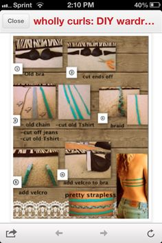 DIY bra for backless shirts