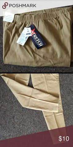 LA Blues Stretch Leggings  18/20W A pair of LA Blues stretch Leggings, new condition and still have tags on the pants.  Size average Size 18/20 LA Blues Pants Leggings